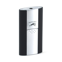 Madelaine Push Black Single Torch Lighter