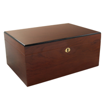 Savoy by Ashton Large Humidor in Bubinga, 100 Cigar Capacity