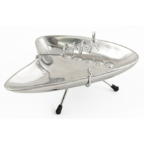 Oggi Aluminum Retro Wired Ashtray