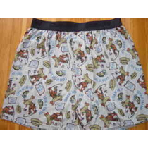 Scooby Doo Where Are You Fishing Boxer Shorts Sz MDoo