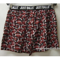 Ralph Marlin Football Just Balls Boxer Shorts Xl!