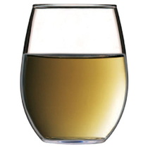 Lara Stemless White Wine Goblets, Set of 4