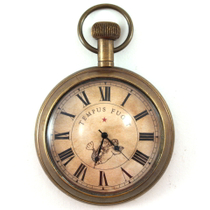 Authentic Models Antique Replica Functional Victorian Pocket Watch
