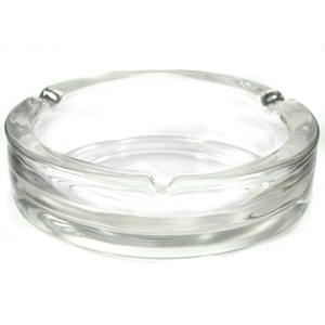 Anchor Hocking Executive Round Glass Cigarette Ashtray