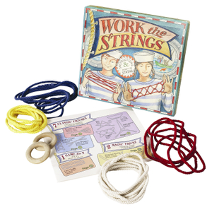 Authentic Models For Kids Work the Strings Game