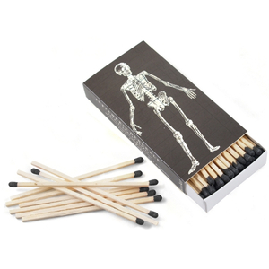 Homart Long Matches in Decorative Infermerie and Skeleton Box