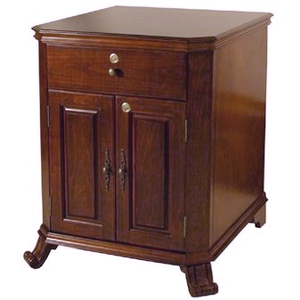Cigar Oasis Montegue End Table Cigar Humidor, Holds 1500 Cigars