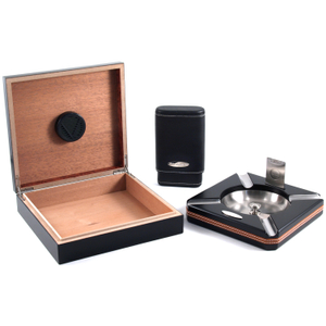 Lamborghini Ultimate Humidor 4 piece Gift Set