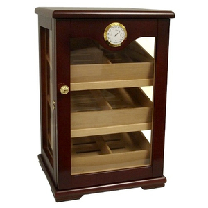 Retail Display 3 Window Cigar Humidor 150 Count