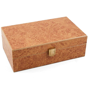 Don Salvatore Burl Desk / Travel Cigar Humidor 12ct