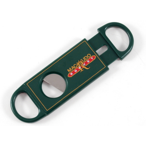 Macanudo Robust Green Single Blade Cigar Cutter