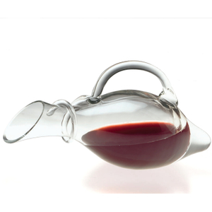 Corkpops Glass Acapella Wine Carafe Decanter