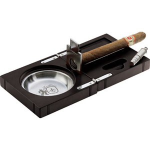 Colibri Camelot Cigar Ashtray with Cutters