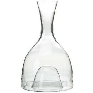 Wine Enthusiast Visual Crystal Wine Decanter, 48 Ounce