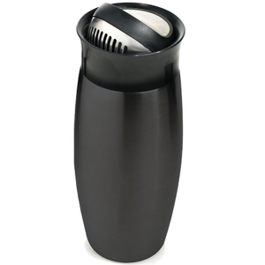 Houdini Flip-Top 24 Ounce Gunmetal Cocktail Shaker