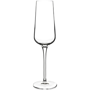 Luigi Bormioli Intenso Champagne Flute Glass, Set of 6