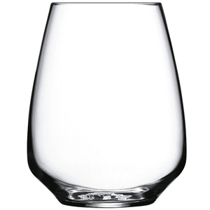 Luigi Bormioli Crescendo Stemless Wine Glass, Set of 4