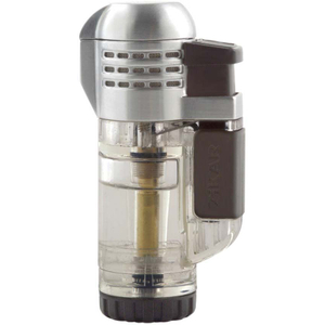 Xikar Tech Clear Triple Torch Butane Lighter