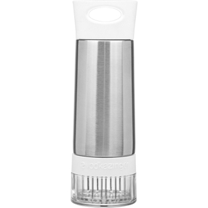 Zing Anything Vodka 18/8 Stainless Steel and White Plastic Zinger, 20 Ounce