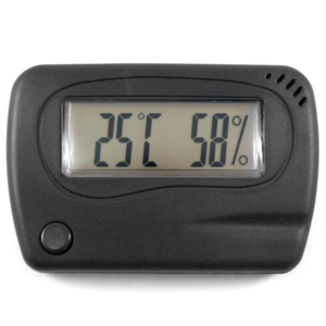 Small Electronic Digital Hygrometer & Temp by Madelaine