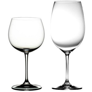 Riedel Vinum XL 4 Piece Cabernet and Chardonnay Glass Set