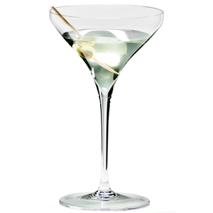 Riedel Vitis Leaded Crystal Martini Glass, Set of 2
