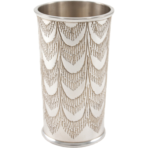 Lunt Silversmiths Feathered Shot Glass