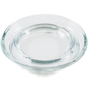 Anchor Hocking Glass Safety Stacking Ashtray, 5 Inch