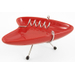 Oggi Red Retro 50's Wired Ashtray