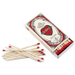 Homart Long Decorative Matches in The Sacred Heart Company Box