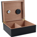 Chalet Black Executive 50 Count Cigar Humidor