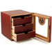 THREE Drawer Gorgeous Windowed Cigar Humidor 100 ct