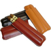 2 Finger Camel Brown Leather Cigar Case humidor