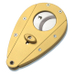 Xikar Xi1 Double Blade Cigar Cutter in Gold