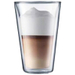 Bodum Canteen Double Wall 13.5 Ounce Pint Glass, Set of 2