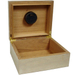 White Oak Cigar Humidor with Compass Inlay