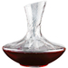 Wine Enthusiast Allure Crystal Aerating Decanter, 47.25 Ounce