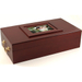 Craftsmans Bench Executive Series Cherry Celebration Cigar Humidor with Picture Frame 135 Count