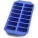 Lekue Gourmet Blue Rubber Rectangle Ice Cube Tray