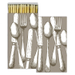 Homart Long Decorative Matches in Silverware Box