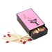 Pink Martini Slide Match Box with Matches