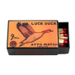 Luck Duck Brand Slide Match Box with Matches
