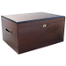 Savoy by Ashton Extra Large African Teak Humidor, 150 Cigar Capacity