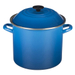 Le Creuset Marseille Blue Enamel on Steel 10 Quart Stockpot