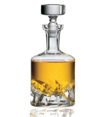 Ravenscroft Crystal Beveled Blade Decanter