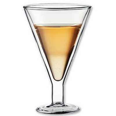 Bodum Manhattan Double Wall All Purpose Glass, 15 Ounce