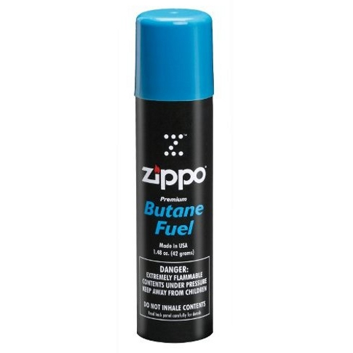 Zippo Premium Butane Fuel Refill for Lighters 1.48 Ounc