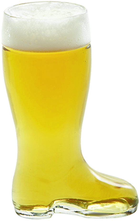 Stolzle Bierstiefel Quarter Liter Glass Beer Boot