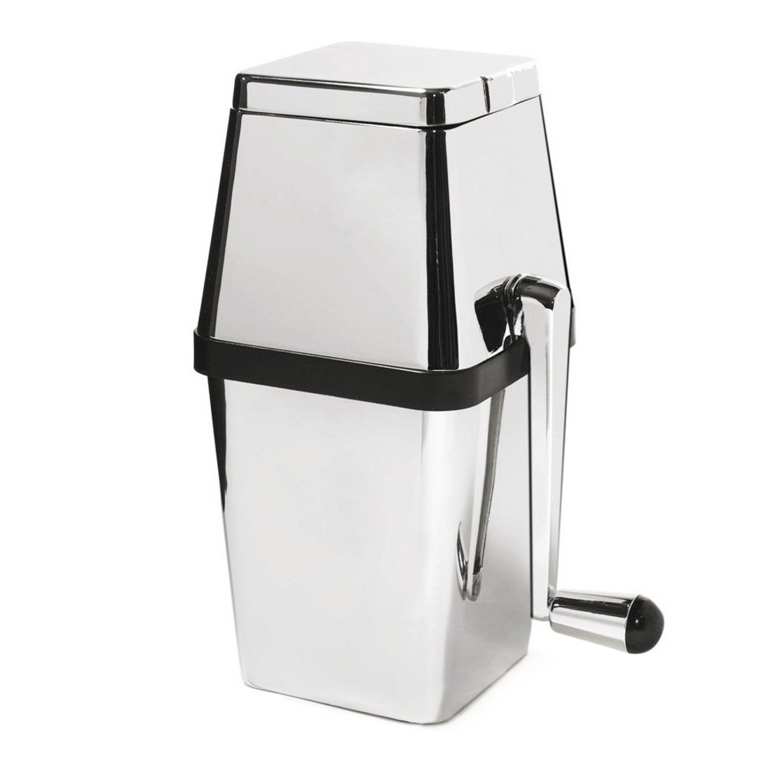 Rabbit Stainless Steel Retro Ice Crusher With Chrome Top