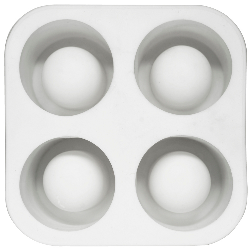 Sagaform Bar White Silicone Shot Glass Mold Ice Tray
